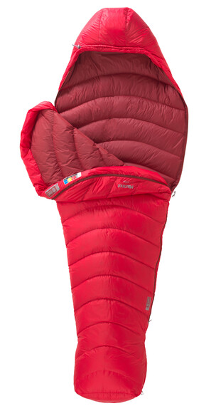 Marmot Atom Sleeping Bag Regular Team Red/Redstone